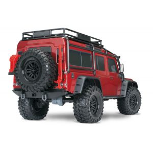 Радиоуправляемая машина TRAXXAS TRX-4 Land Rover Defender 1/10 4WD Scale and Trail Crawler